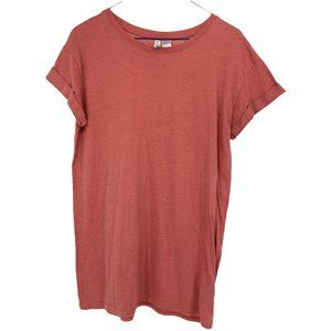 H&M Divided coral capped sleeve tshirt xs